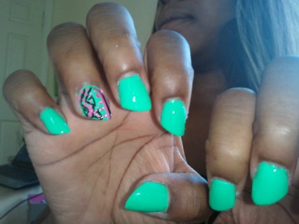 Lip Stick Nails